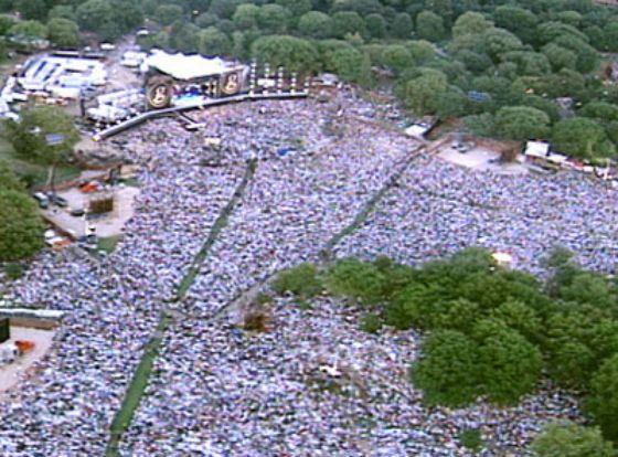 Самые большие концерты в мире