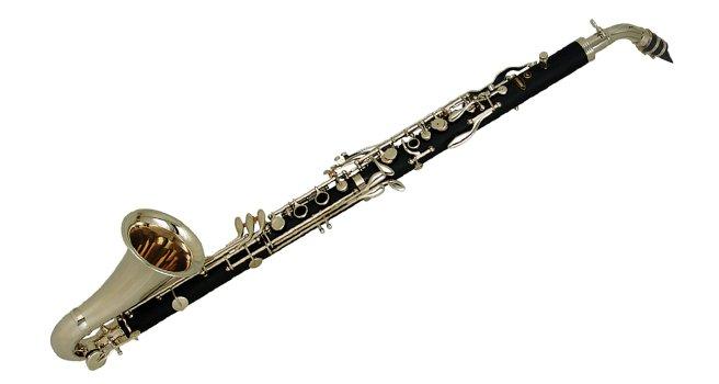 Альтовый кларнет музыкальный инструмент