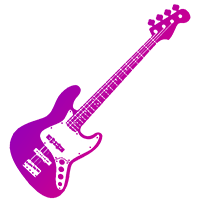 бас-гитара иконка