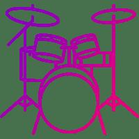 барабаны иконка