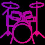 барабаны иконка png