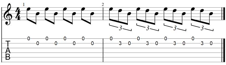 триоли в музыке