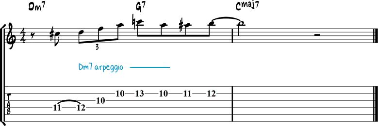Джазовая фраза для гитары 25