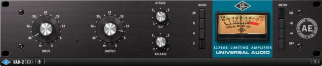 Компрессор Universal Audio 1176AE