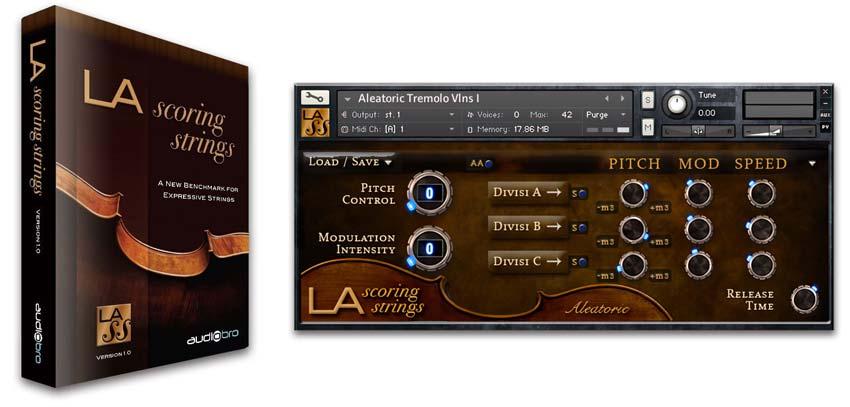 Струны для партитур Audiobro LA