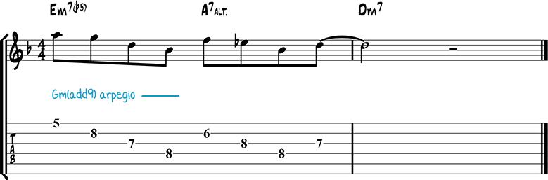 Джазовая фраза 37