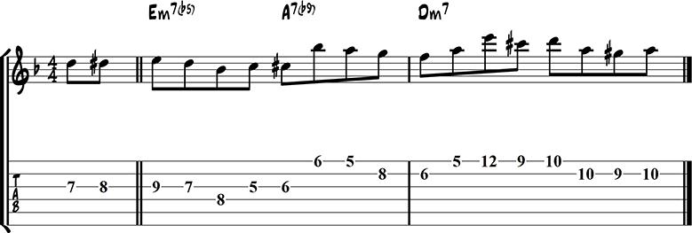 Джазовая фраза 41