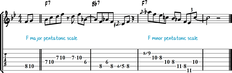 Джазовая фраза 45