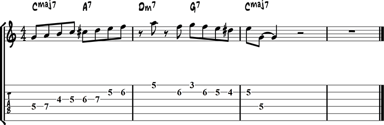 Джазовая фраза 49