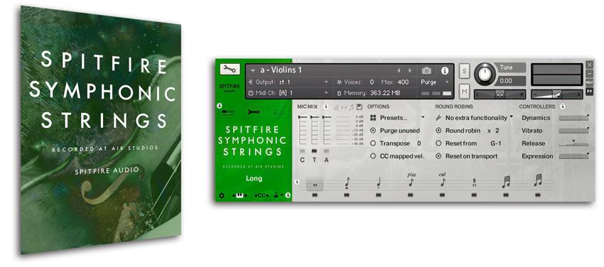 Симфонические струны Spitfire